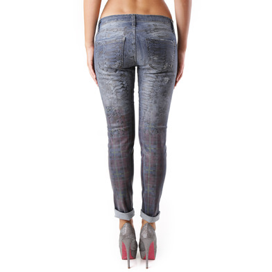 Sexy Woman Jeans Donna